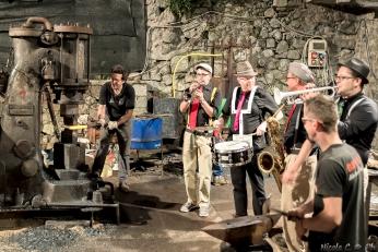 Maglio e cantori mostra mercato Bienno 2014