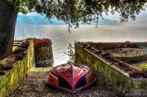 Barca a Solto Collina