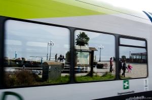 Riflesso treno Pisogne